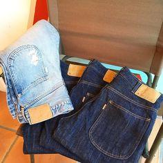 5Pocket Denim Pants Series. #standardcalifornia #スタンダードカリフォルニア #5pocket #denim #onewash #vintagewash