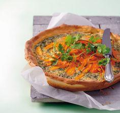 Möhren-Koriander-Quiche - Vegetarische Rezepte: Hauptspeisen - 15 - [ESSEN & TRINKEN]
