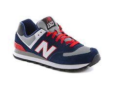 New Balance ML574 CPM Schuhe navy-red-white - 44 - http://on-line-kaufen.de/new-balance/44-eu-new-balance-ml574-d-herren-sneaker-9