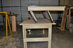 This Guy Took Some Wood And An Idea And Made Something Strangely Amazing Convertible sit/stand desk!