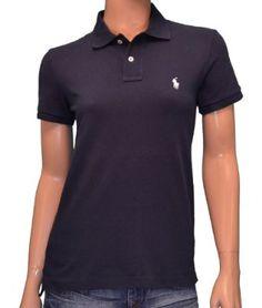 Polo Ralph Lauren Women's Classic Fit Mesh Shirt - Navy-Small Polo Ralph Lauren. $59.98