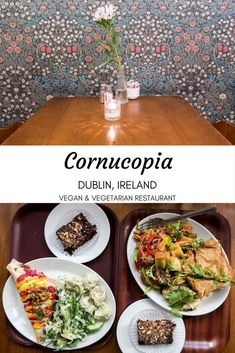 Cornucopia Dublin, Ireland: One of the top vegetarian restaurants in the city, and one of the oldest. Visit this celebrated vegan and vegetarian restaurant. Europe Travel Tips, Travel Articles, Travel Guides, Travel Uk, Group Travel, Free Travel, Travel Advice, Family Travel, Travel Destinations