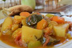 Greek Recipes, Vegan Recipes, Cookbook Recipes, Cooking Recipes, Appetisers, Fruit Salad, Vegan Vegetarian, Potato Salad, Sweet Home