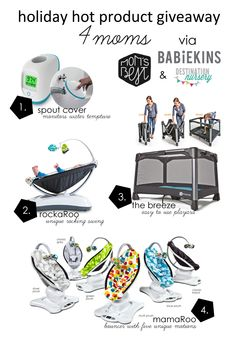 Mom's Best Network: Holiday Hot Product Giveaway 4moms  Week 2 @Victoria Olson's Best