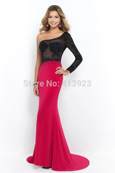 Jewel Sexy Colorful Party Dresses Sheath See through Beading Luxurious  sheer Prom Gowns Rhinestone Beads crystals Beaded Prom Dresses 2015 Prom  Dresses 90348fdbfe63