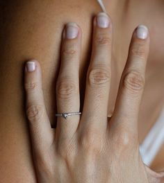 White Gold Diamond Ring, Pave Diamond Band, Trillion Diamond Ring, Modern Engagement Ring for sale 1 Carat Diamond Ring, Gold Diamond Rings, Diamond Bands, White Gold Diamonds, 3 Carat, Boho Engagement Ring, Modern Engagement Rings, Diamond Engagement Rings, Ring Ring