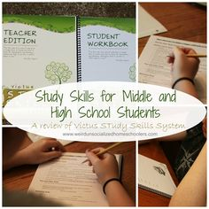 Study Skills for Middle and High School Students: A Victus Study Skills System Review