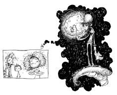 Fortunately The Milk by Neil Gaiman - Illustration by Skottie Young (U.S. Edition).