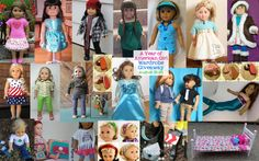 Cute doll outfits for the whole year!