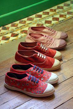 Tennis - Bensimon FW17 Bensimon Shoes, Fashion Shoes, Girl Fashion, Le Tennis, I Dress, Collaboration, My Style, Sneakers, Outfits
