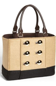 Free shipping and returns on kate spade new york 'beantown - quinn' tote at Nordstrom.com. Polished peacoat buttons add preppy appeal to a tricolor tote cast in winter-weight felt.