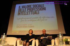 La presidente del CUP, Marina Calderone, con il Direttore del CRESME Lorenzo Bellicini.