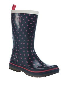 Helly Hansen Midsund 2 Printed Rain Boots Women's Blue 8
