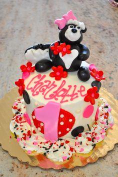 20 Best Skunk Cake Images In 2013 Cake Cupcake Cakes