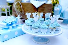 Once in a Blue Moon Baby Shower! on http://pizzazzerie.com