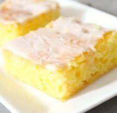 Old-Fashioned Jello Lemon Bars Recipes lemon bars, dessert recipes, dessert bars