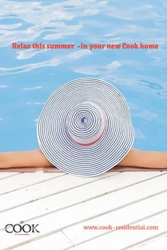 Relax this summer  -in your new Cook home