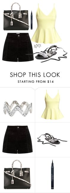"""Untitled #1152"" by moria801 ❤ liked on Polyvore featuring ADORNIA, H&M, Steve Madden, Yves Saint Laurent, Christian Dior, women's clothing, women, female, woman and misses"