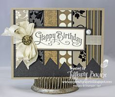 My Crafty World: Stampin Queens Sketch Challenge #26