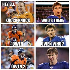 Peyton Manning is the best Manning. Fact.