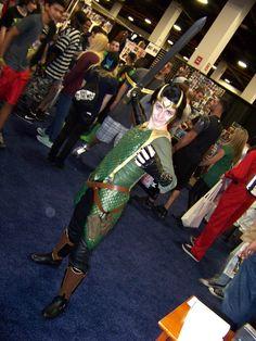 Agent of Asgard Loki at Boston Comic Con.