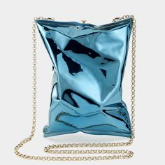 I want this Anya Hindmarch Crisp Packet clutch Luxury Bags, Luxury Handbags, Grunge, Designer Clutch, Punk, Anya Hindmarch, London Blue, Malm, Evening Bags