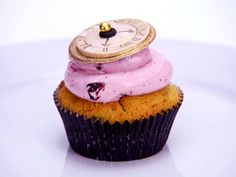 Absinthe, Almond, Black Currant and Cherry Cupcakes with Poppy Seeds from FoodNetwork.com   This is from the WICKED Themed competition!!!   Probably would be the first one I'd make