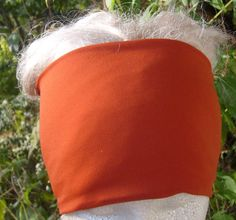 Burnt Orange Head Hugger by KreativeMindz on Etsy, $12.00
