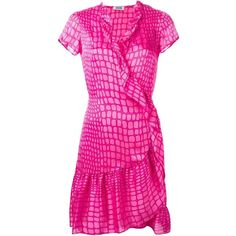 Cheap multi coloured wrap dress