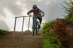 Roll down the stairs, ride down through the Tansen town, Race the First Urban DH, Enjoy Tansen, Palpa.
