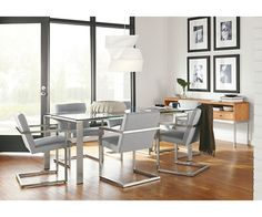 Lira Chair in Stainless Steel - Chairs - Dining - Room & Board