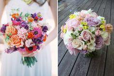 bouquet on left