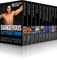 Dangerous Attraction Romantic Suspense Boxed Set Novels from Bestselling Authors, plus Bonus Christmas Novella from NY Times Bestselling Author Rebecca York) by Kaylea Cross Romantic Novels To Read, Romance Novels, Hot Stories, Book Review Blogs, Book Trailers, Thriller Books, Page Turner, Bestselling Author, Attraction