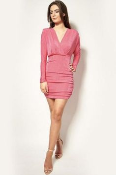 💖 Winter sale pick of the day! 💖 #havetolove #sale #newyears #winterishere #excited https://www.havetolove.com/collections/sale/products/kendall-hot-pink-drape-longsleeve-mini-dress?utm_content=buffer687ff&utm_medium=social&utm_source=pinterest.com&utm_campaign=buffer