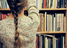 books and braid.
