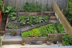 Kate Fox Self sufficient living in a small space... Gnomelette might like this for her upcoming garden :)