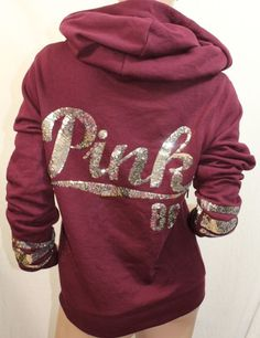Victoria's Secret | PINK NEW! PERFECT ZIP HOODIE $44.95 ...