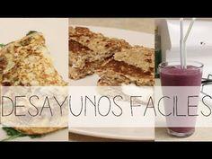 #MONSEFIT! 3 Desayunos faciles, rapidos y nutritivos. (+lista de reprodu...
