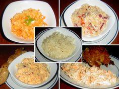 Zelné saláty z čerstvého zelí: Pětice nejoblíbenějších salátů ze zimního hlávkového zelí     MAKOVÁ PANENKA Mashed Potatoes, Grains, Food And Drink, Rice, Vegetarian, Vegan, Ethnic Recipes, Basket, Salads