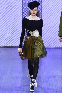 Olympia Le-Tan - Fall 2015 Ready-to-Wear - love the ballet influence in her collection this season
