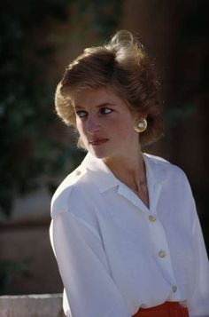 August 13, 1988: Princess Diana on holiday at the Palma de Mallorca in Spain.
