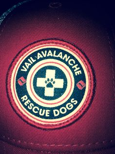 love this logo from Vail Avalanche Rescue Dogs!