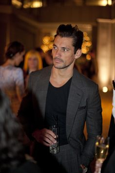 David Gandy at a Celebration of British Fashion 2012 #BFA