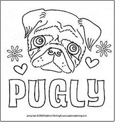 Pug Coloring Pages To Download And Print For Free Pattern Precious