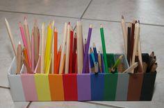 montessori crayons | Libellés : Fabrication matériel