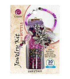 Jewelry Kit In A Bottle-Fairytale