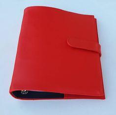Mini Fichário Vermelho - 17115082   enjoei :p