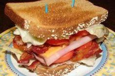 Triple Decker Turkey Bacon Sandwich