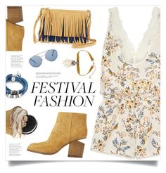 """Good Vibes Only: Festival Fashion"" by marina-volaric ❤ liked on Polyvore featuring STELLA McCARTNEY, Alexander Wang, Lizzy James, Sam Edelman, WithChic and festivalfashion"