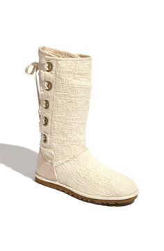 Ohhh I want these in the grey soooo badly- UGG® Australia 'Heirloom' Boot available at Nordstrom